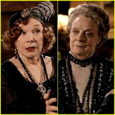 Downton Abbey returns this Sunday and I'm especially looking forward to the clash between the Dowager Countess and Cora's mother