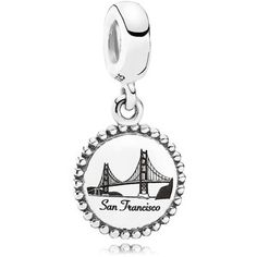 PANDORA Dangle Charm - Sterling Silver Unforgettable Moment San Francisco