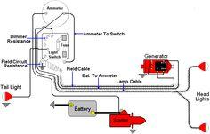diagram of wiring on B Farmall Later Wiring Diagram 6