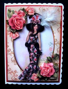 Edwardian Elegance Bumper Kit - Photo by Jayes Crafted Cards by Jennifer I Card, Kit, Elegant, Frame, Prints, Handmade, Classy, Picture Frame, Hand Made