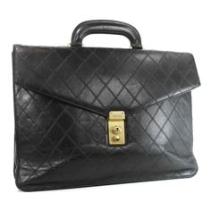 Chanel vintage briefcase; need me one of these when I'm a business professional :P