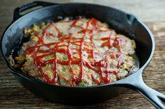 Easy Skillet Meatloaf - Framed Cooks