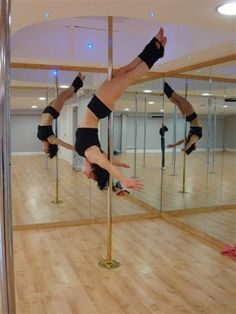 Pole Fitness. Got to let go!!!