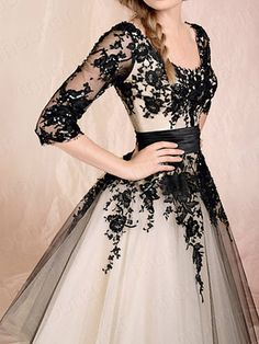 Cheap gown jacket, Buy Quality dresses gown directly from China dress up ball gowns Suppliers: 2017 Hot Sale Elegant vestido de noiva Ball Gown Teal Length Lace Up Back Organza Wedding Dresses Bridal Gown robe de mariage Pretty Dresses, Beautiful Dresses, Gorgeous Dress, Elegant Dresses, Pretty Clothes, Gowns With Sleeves, Half Sleeves, Short Sleeves, Looks Vintage