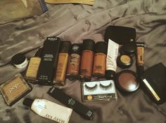 #makeup #mac #primer #lashes #highlighter #bronzer #marykay