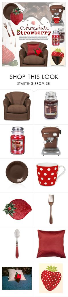 """""""Add some Chocolate"""" by pretrust ❤ liked on Polyvore featuring interior, interiors, interior design, home, home decor, interior decorating, Village Candle, Ascaso, Fiesta and Könitz"""