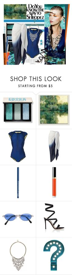"""""""Do You Know the way to St Tropez (Contest)"""" by lavendergal ❤ liked on Polyvore featuring Saint Tropez, Bobbi Brown Cosmetics, Cost Plus World Market, Duskii, Phase Eight, NYX, Chanel, Jean-Paul Gaultier, Gianvito Rossi and Sole Society"""