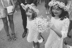 Flower girls & The New Way To Style Gypsophila