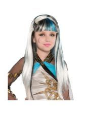 Monster High Frankie Stein Supreme II Wig for Children - Party City