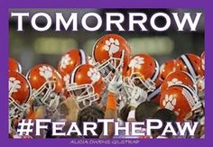 Tomorrow fear the paw