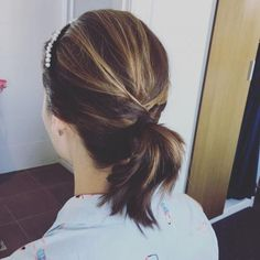 The Top 114 New Shoulder Length Hairstyles & Haircuts to Try This Year 2019 - Hair Styles Short Ponytail, Ponytail Hairstyles, Hairstyles Haircuts, Straight Hairstyles, Medium Hair Styles, Curly Hair Styles, Natural Hair Styles, Prom Hair Updo Elegant, Half Up Curls
