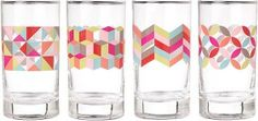 HALF OFF NOW :) paper Source Color Pop Glasses... Two sets for the price of one! Yes!!