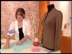 Liliana Villordo - Bienvenidas TV - Explica la costura de una Remera con Carterita. - YouTube