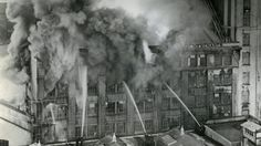Firefighters battle a towering inferno in the Hope Gibbons building in Dixon St on July National Archives, Firefighters, Battle, History, Building, House, Firemen, Historia, Home