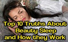 Best Truths About Beauty Sleep and How it Works?