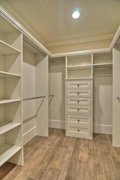 Walk in closet. Mine would need cedar floors and I would make the top area a place for storage