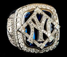 New York Yankees 2009 World Series Ring... I actually just saw one of these rings at Cooperstown! It's probably my favorite of all the rings there.