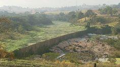 Cazuza: Falta de chuva faz rio secar em Varginha, MG, e re...