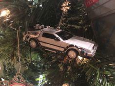 Back to the Future Delorean Christmas Ornament