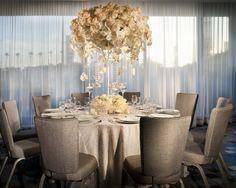 Indoor wedding reception at the Hyatt Regency Los Angeles International Airport