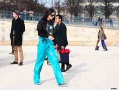 Streetstyle Post: PFW- 6 Looks to Love: Gilda Ambrosio on #ATPB goo.gl/Jo12Ki
