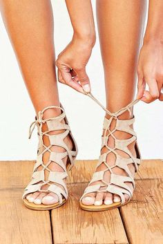 Designs of Strappy Sandals that Every Fashion Girl Should Try On ★ See more: http://glaminati.com/strappy-sandals-fashion/