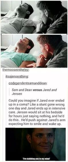 And I would stand right behind Jensen