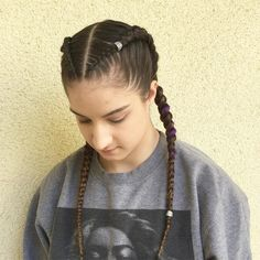 60 Best Braids, Braid Styles, Braided Hairstyles For Women 2019 - #boxerbraids #Braid #Braided #braids #Hairstyles #Styles #Women # tight Braids inspiration # tight Braids inspiration # tight Braids dutch