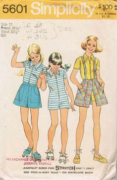 Vintage 1973 Simplicity 5601