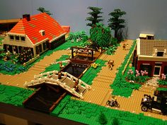 LEGO LandScape | Flickr - Photo Sharing!--Lego farm scenes and some really…