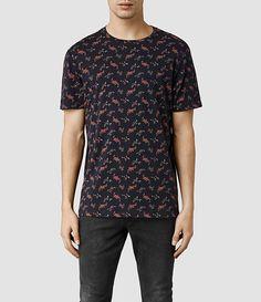 Mono Floral Crew T-Shirt