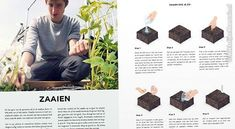 Duidelijke fotos en illustraties in mijn nieuwe boek de Makkelijke Moestuin Mens Sunglasses, Poster, Gardening, Fruit, Lawn And Garden, Men's Sunglasses, Billboard, Horticulture