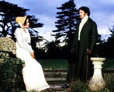 Jennifer Ehle and Colin Firth in P&P 95