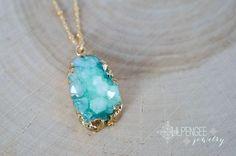 Hey, I found this really awesome Etsy listing at https://www.etsy.com/listing/240767694/moora-aqua-quartz-druzy-pendant-druzy