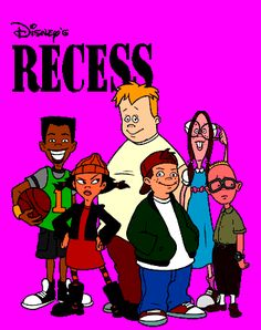 Favorite Saturday morning cartoon- With Vince, Mikey, Gretchen, (Ashley) Spinelli, T. 90s Tv Shows, Childhood Tv Shows, Cartoon Tv Shows, Old Shows, 90s Childhood, My Childhood Memories, Recess Cartoon, Watch Cartoons, 90s Cartoons