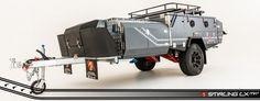 K-Series Stirling LX MK2 Off Road Hard Floor Camper Trailer