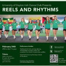 Feb 24, 2013 - Reels and Rhythms by University of Dayton Irish Dance Club