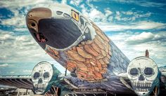 Disused Jets in U.S. Air Force 'Graveyard' given New Lease of Life by World's Best Graffiti Artists