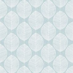 This Scandi Leaf Wallpaper will add a stylish finishing to your home. The design is made up of a white leaf pattern on a teal background. Bedroom Wallpaper Texture, Scandi Wallpaper, Go Wallpaper, Paper Wallpaper, Wallpaper Online, Leaves Wallpaper, Teal And Grey Wallpaper, Textured Wallpaper, Victorian House Interiors