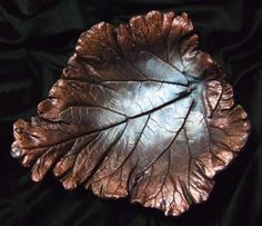 Hometalk :: Un-Be-Leaf-ables - made from quikcrete and leaves used as an imprint