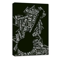 for the musician in your family - makes a great wall decor sign for his or her room.
