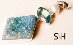 SNH Healing Crystal Pendant by SNHJewels on Etsy