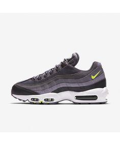 watch 6b718 c03ca Nike Air Max 95 Essential Anthracite Dark Grey Volt Men s Nike Air Max  Trainers, Mens