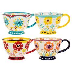 4 Piece Dania Mug Set