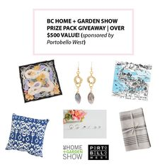 Home And Garden Show | Giveaway Garden Show, Home And Garden, Bc Home, Giveaway, Fashion Accessories