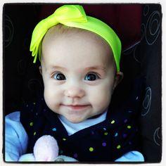 Cute baby headband!