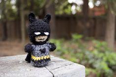 Crochet Batman Amigurumi Pattern. Why? Because I'm Batman! ;-)