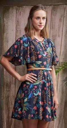 Só na Antix Store você encontra Vestido Botânica com exclusividade na internet
