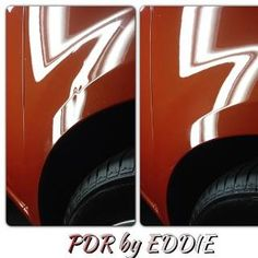 Paintless Dent Repair by Eddie - Before/After