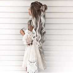 71 most popular ideas for blonde ombre hair color - Hairstyles Trends Blond Ombre, Ash Blonde Hair, Ombre Hair Color, Hair Color Balayage, Blonde Balayage, Hair Colors, White Ombre Hair, Gray Hair, Ash Ombre